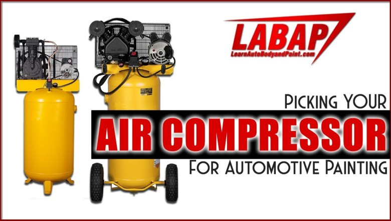 Picking YOUR Air Compressor For Automotive Painting – DIY Garage or Shop Air Compressors