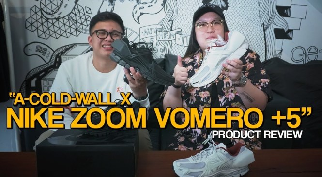 PRODUCT REVIEW #11: A-COLD-WALL* x Nike Zoom Vomero 5