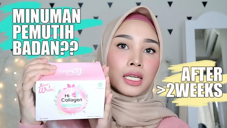 EVERWHITE HI COLLAGEN DRINK REVIEW + NGOBROLIN – MINUMAN PEMUTIH BADAN ? SERIUS ?