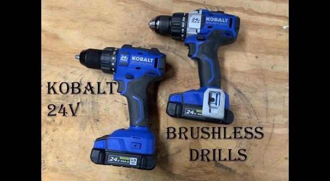 Product Review ~ Kobalt 24v Brushless Drills