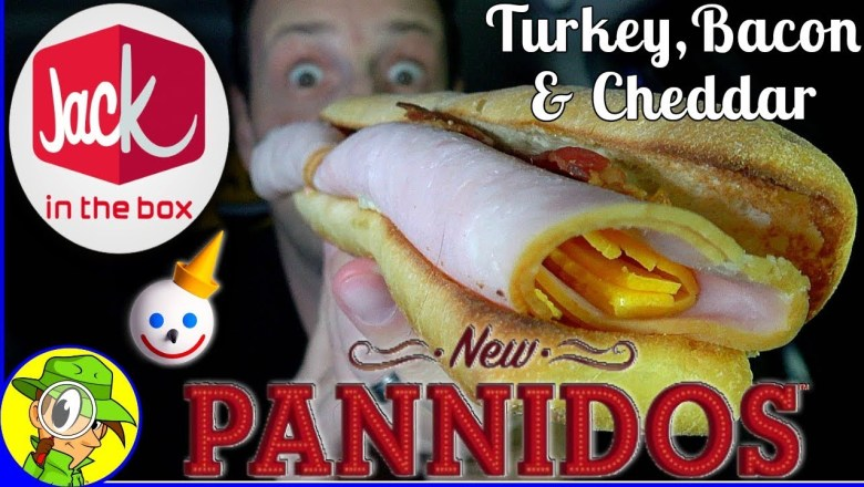Jack In The Box® | Pannidos™ | Turkey Bacon Food Review! 🍗🥓🥖