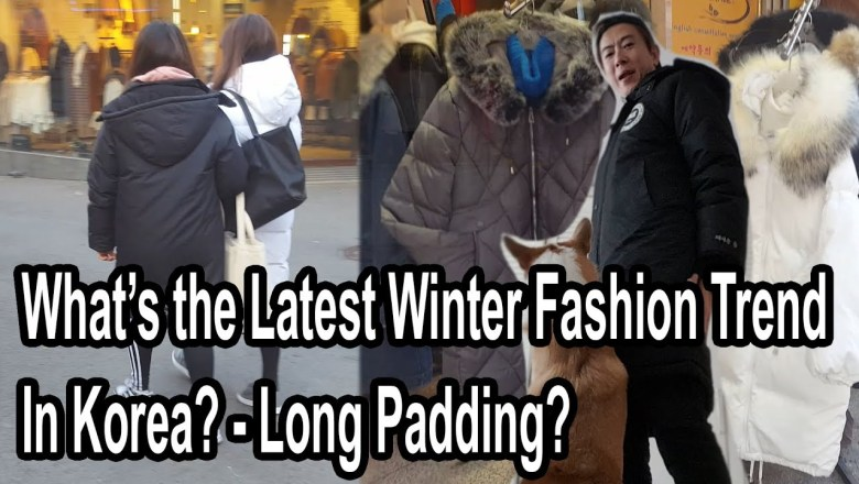 What's The Latest Winter Fashion Trend in Korea? (Long Padding 롱패딩)