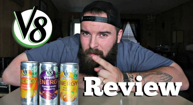 V8 Vfusion Energy Drink Review