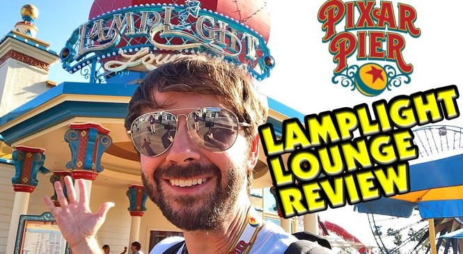 LAMPLIGHT LOUNGE Food & Drink REVIEW and TOUR! – Pixar Pier – Disney California Adventure
