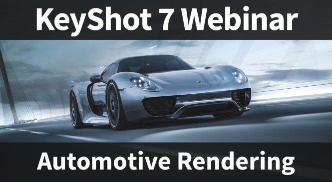 Webinar 66: Automotive Rendering in KeyShot