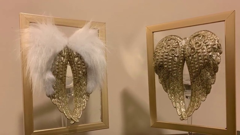 Dollar Tree DIY | Angel Wings Candle Holder & Product Review