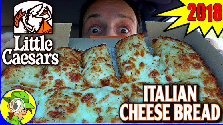 Little Caesars® | Italian Cheese Bread 2018 | Food Review! 🔱🍕🧀