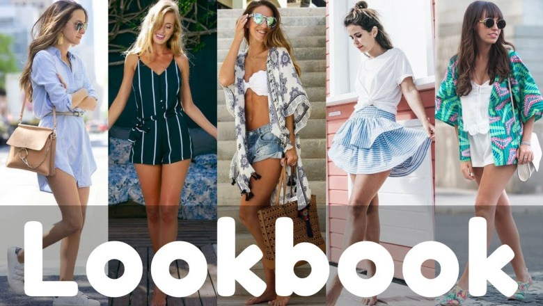 Latest Summer Dresses & Outfit Ideas Fashion Trend 2018 | Summer Fashion Lookbook