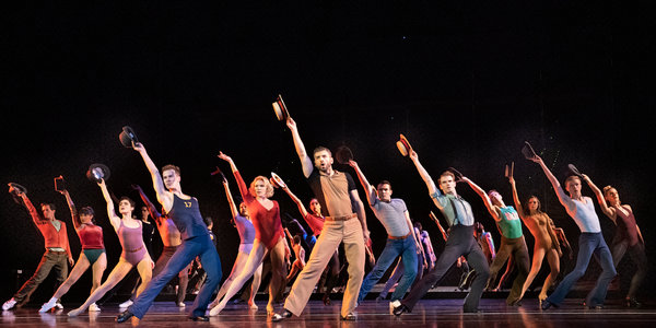 Review: 'A Chorus Line,' Still High-Stepping but Showing Its Age