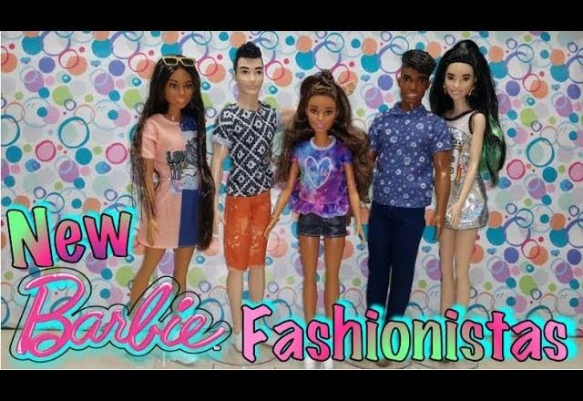 Unboxing NEW Barbie Fashionistas⎢Tall ⎢Petit ⎢Curvy ⎢Fashion Accessories