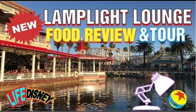 New Lamplight Lounge Food Review and Tour!