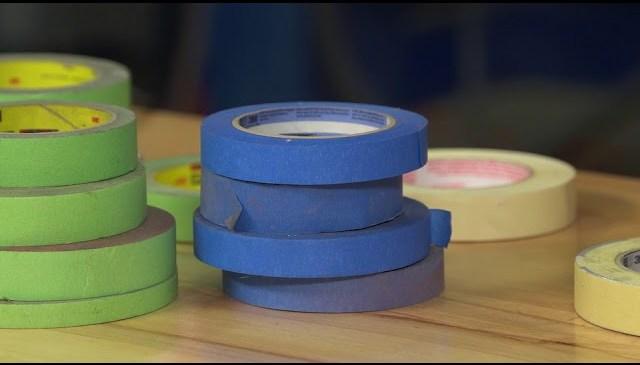 Using Automotive Masking Tape