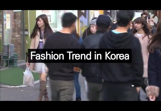[Fashion Trend in Korea]