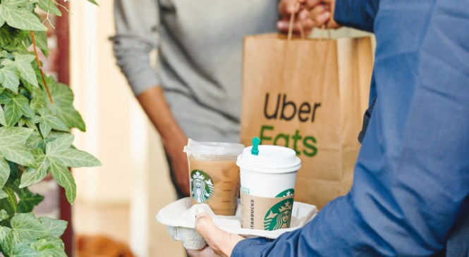 Starbucks expands its delivery service to 6 more U.S. cities, starting with San Francisco