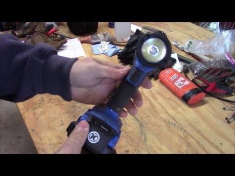 Kobalt 24v 200 Lumen LED Work Light ~ Product Review
