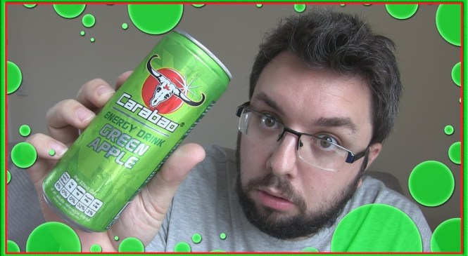 Carabao Green Apple Energy Drink Review