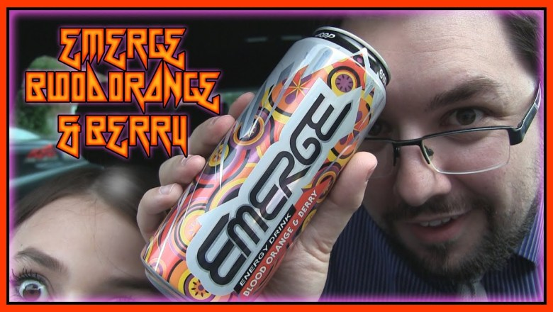 Emerge Blood Orange & Berry Energy Drink Review