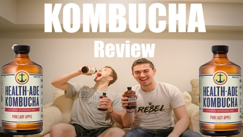 Health Ade Kombucha Tea Drink | Product Review