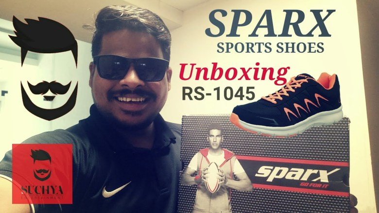 Unboxing Sparx Sport Shoes 2018 | Good Product | Amazon India | Suchya Entertainment