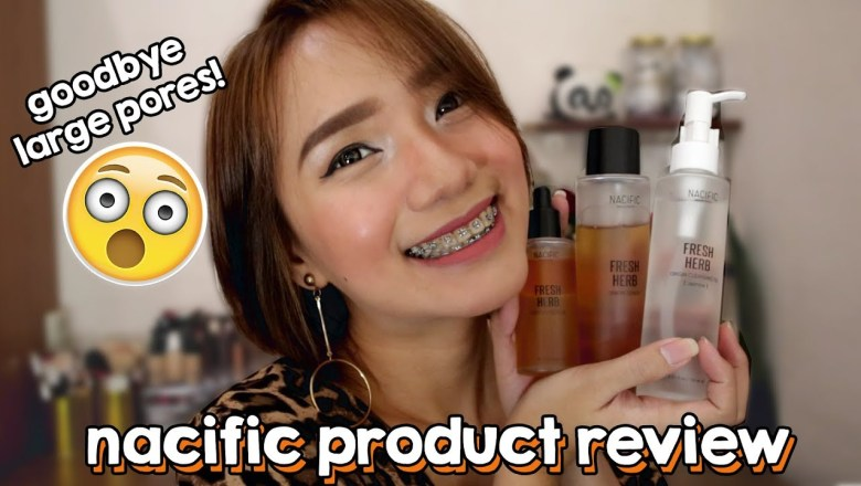 NACIFIC PRODUCT REVIEW | GOODBYE LARGE PORES IN 2 WEEKS!! | Erika Lim