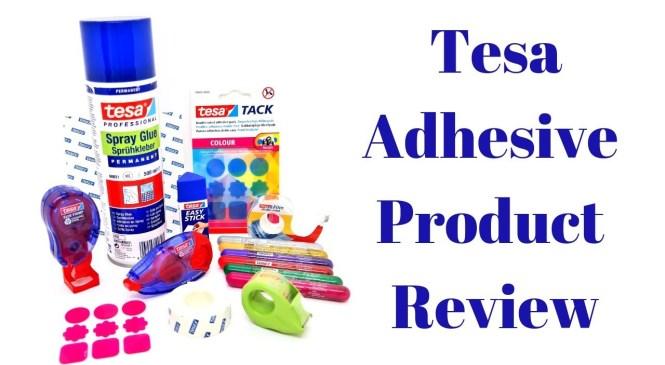 Tesa Adhesive Product Review   Mixed Up Craft