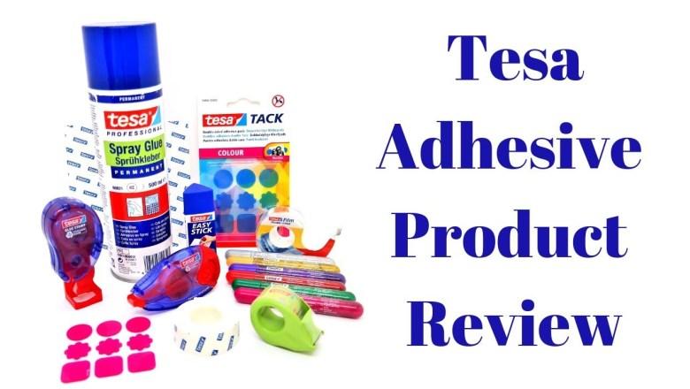 Tesa Adhesive Product Review | Mixed Up Craft