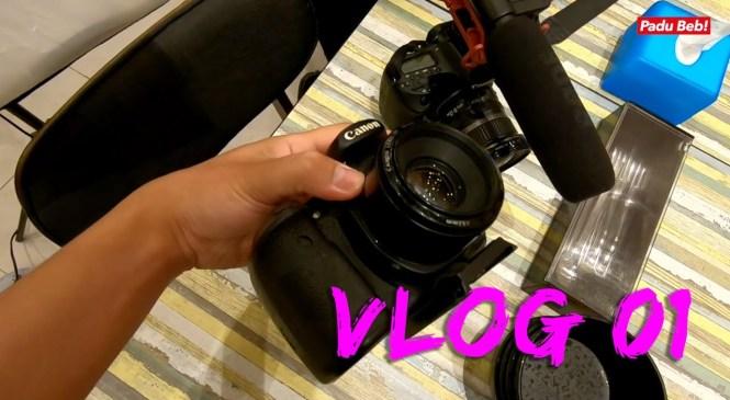 Equipment Pyan Pakai Untuk Video Food Review | Vlog 01 2019