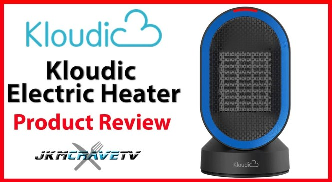 ☑️ Kloudic Portable Electric Heater | Product Review | JKMCraveTV
