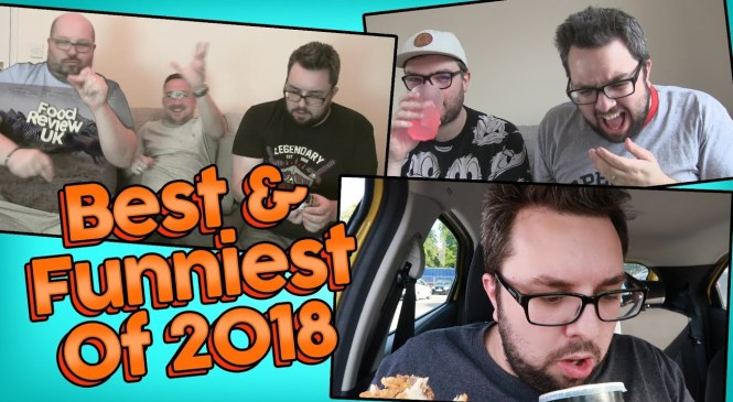 The Best & Funniest Moments Of 2018 | Food Review UK