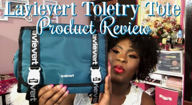 Lavievert Toiletry Bag | Product Review | The Pink Pearls Glam Parlour