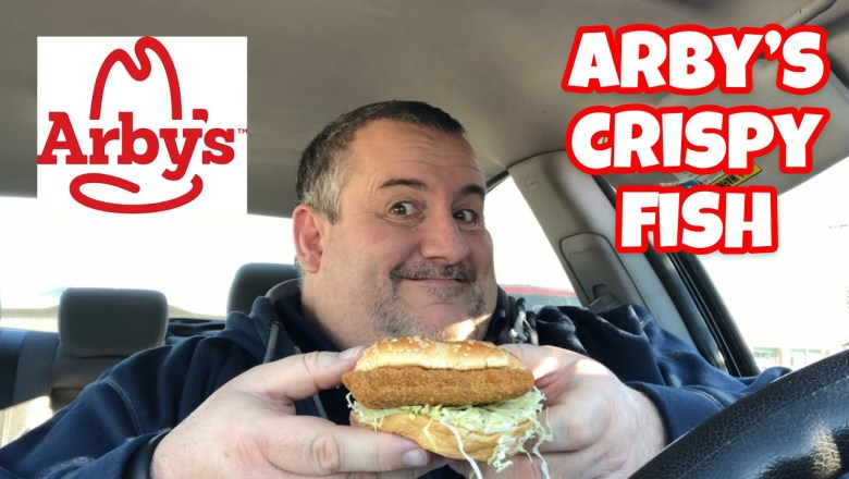 Arby's Crispy Fish Food Review