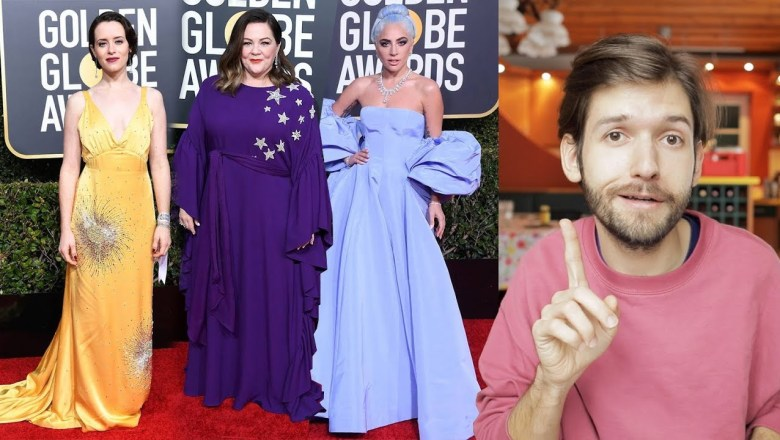 2019 Golden Globes Fashion Review | Michael Buchinger
