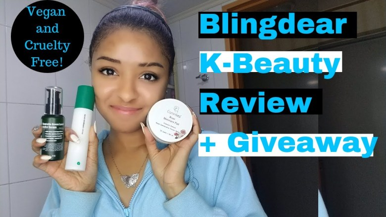 Blingdear K-Beauty Product Review +Giveaway