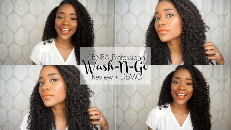 The Perfect Wash & Go? KENRA Curly Hair Product Review + DEMO