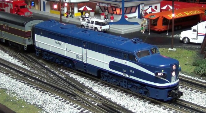 """MTH O-Scale NKP City of St Louis """"Blue Arrow"""" Product Review (Stockyard Express Exclusive)"""