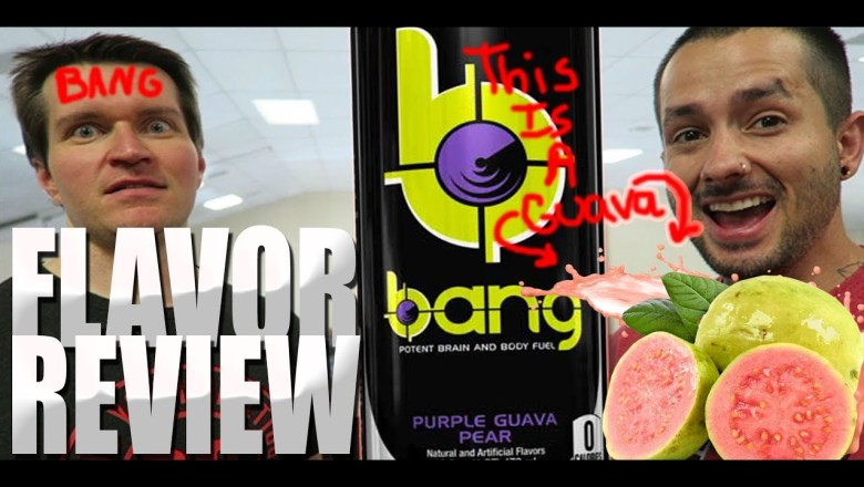 Bang Energy Drink – Purple Guava Pear REVIEW