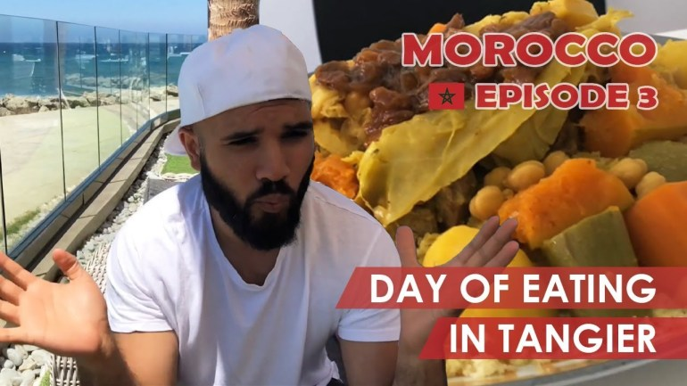 Tangier, Morocco: Hungry Halal Hangouts Food Review! (ep 3)