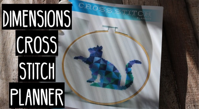 Product review: Dimensions Cross Stitch Planner