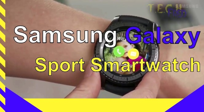 New Samsung Galaxy Sport Smartwatch!   Reviews not the final product