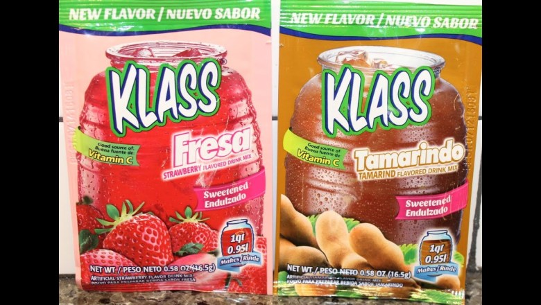 Klass Flavored Drink Mix: Strawberry & Tamarind Review