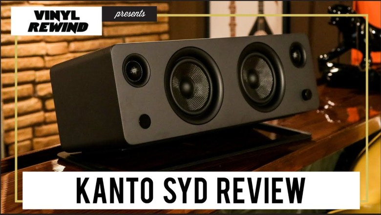 Kanto SYD all-in-one speaker product review   Vinyl Rewind