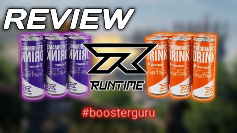 "Runtime ""Performance Drink"" Review 