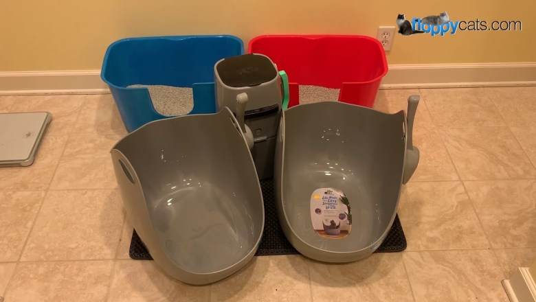 LitterLocker® Litter Box with Scoop Unboxing Video for a Product Review