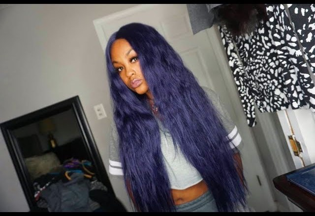 THIS KINKY STRAIGHT LACE WIG!! | @MEEKFRO | CHADE FASHION REVIEW