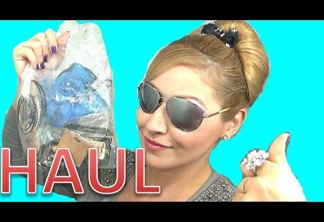 HAUL COMPRAS accesorios y maquillaje octubre 2013 Fashion Accessories haul