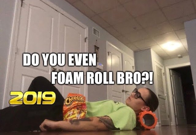 My New Years Resolution…The FOAM ROLLER!? Product review for fitness and weight loss.