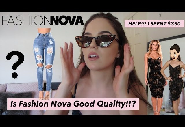 FASHION NOVA Australian Sizing Guide | Unboxing & Honest Review
