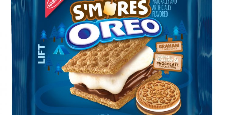 S'mores Oreos made with chocolate and marshmallow creme stuffed between graham cracker-flavored cookies are coming back