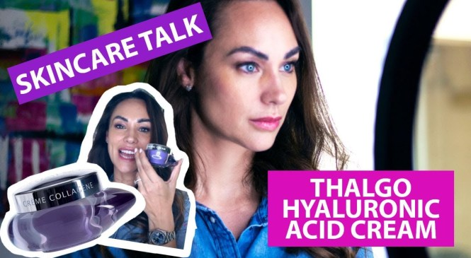 PRODUCT REVIEW| SKINCARE| THALGO HYALURONIC ACID CREAM
