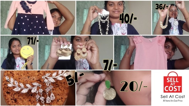 Sell at cost products review//prices starting from*2* //in Telugu